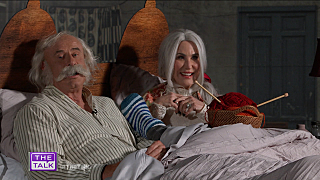Dr. Phil and Robin McGraw as Willy Wonka's Grandparents; Halloween Quarantine Advice