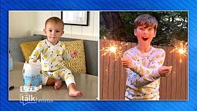 Iain Armitage on Twinning with Amanda Kloots Son in Lemon PJs