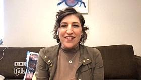 Mayim Bialik Prepping to Guest Host 'Jeopardy' with 'blazer' Fashion