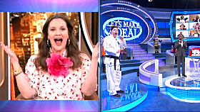 "Special Guest Drew Barrymore on ""Let's Make A Deal"""