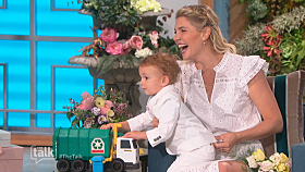 Amanda Kloots' Son Elvis Makes TV Debut for Mother's Day on 'The Talk'