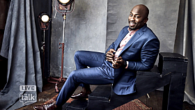 Akbar Gbajabiamila Debuts on 'The Talk'; Michael Strahan Surprise
