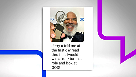 David Alan Grier 'not mad' Jerry O'Connell Mistakenly 'posted' His Digits After Tony Award Win